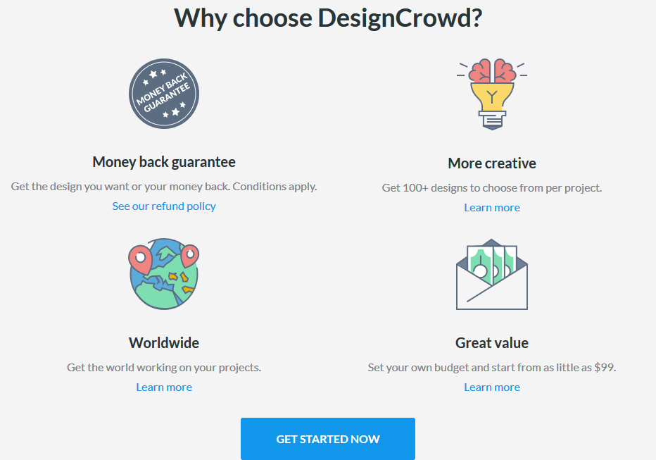 Why DesignCrowd